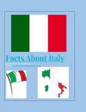 (EUROPE GEOGRAPHY) Italy: 50 Minute Reading Activity Guide