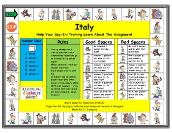 Italy Board Game