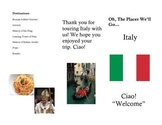 Italy Brochure for Countries Theme