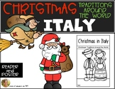 Italy: Christmas Around World Traditions Reader & Poster Kindergarten & First