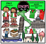 Italy Clip Art Bundle {Educlips Clipart}