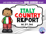 Italy Country Report