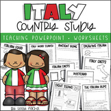 All About Italy - Country Study