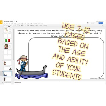Italy Country Study - Google Drive Version