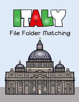 Italy File Folder Matching