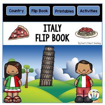 Italy Country Study: A Mini Unit & Italy Flip Book