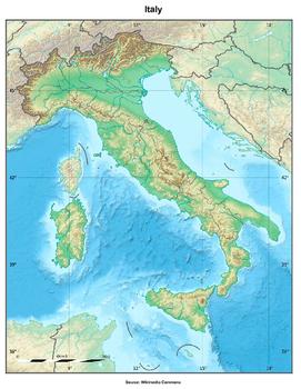 Italy Geography Quiz