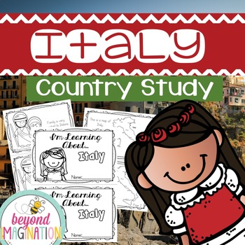 Italy Booklet Country Study Project Unit