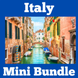 Italy | Italian | Symbols of Italy | Activities Mini BUNDLE