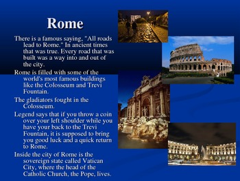 Italy Power Point Presentation