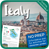 Italy (Fun stuff for elementary grades)
