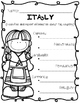 Italy {Research / Creative Writing / Word Work}
