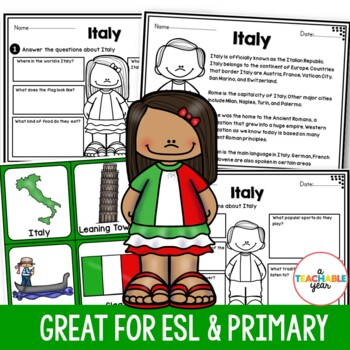 Italy - Vocabulary Pack