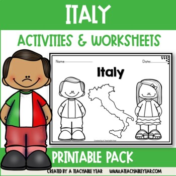 Italy - Vocabulary Pack