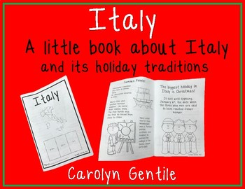 Italy - a book about Italy and its holiday traditions