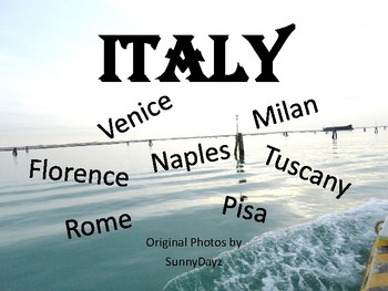 Italy photo pack - 150 photos