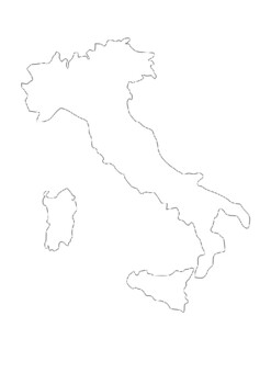 Italy word search