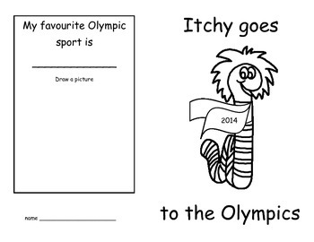 Itchy Goes to the Olympics (CDN versions)