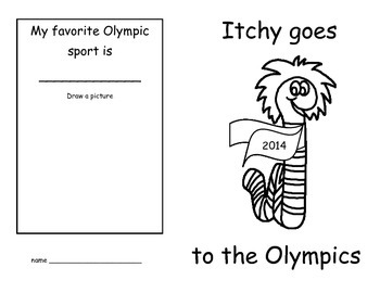 Itchy Goes to the Olympics (US version)