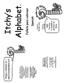 Itchy's Alphabet Mini Printing Booklet - Spanish