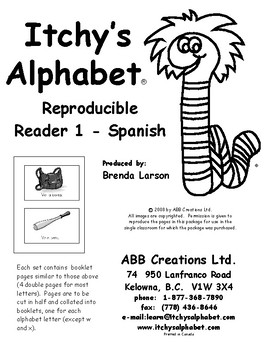 Itchy's Alphabet Reproducible Readers - Spanish