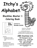 Itchy's Alphabet Coloring Book