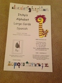 Itchy's Alphabet Spanish Large Cards