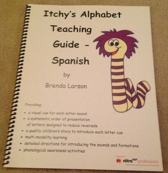 Itchy's Alphabet Teaching Guide Spanish