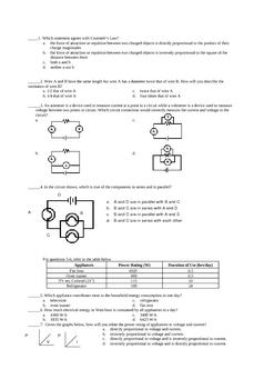 Item Bank - Quizzes (Physics)