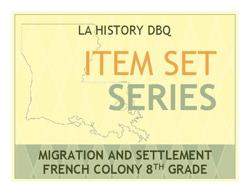 Item Sets - Migration and Settlements - French Colony
