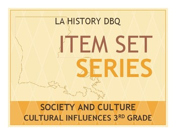 Item Sets - Society and Culture - Cultural Influences on Louisiana