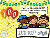 It's 100th day!