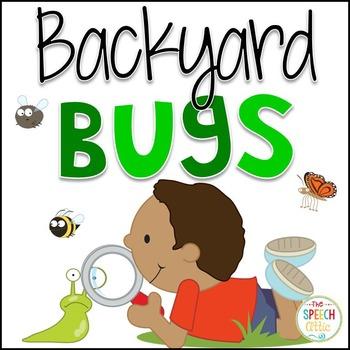 Backyard Bugs Interactive Book