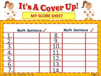 Number Sense and Logical Reasoning Math Game