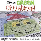 It's A Green Christmas!  ELA, Writing, Math Activities & More