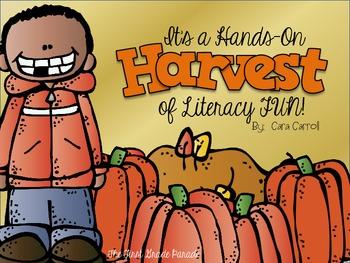 It's A Hands-On Harvest of Literacy Fun! {Literacy Activit