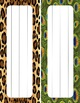 It's A Jungle In Here Back to School Pack--Editable!