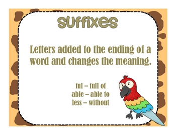 It's A Jungle of Prefixes and Suffixes