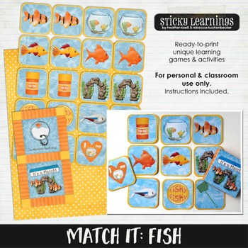 It's A Match: Fish