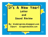 It's A New Year Letter and Sound Review