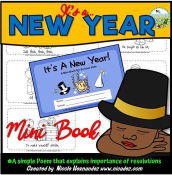 New Years Mini Book