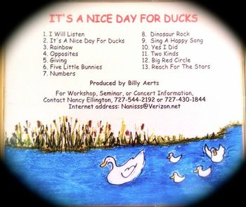 It's A Nice Day for Ducks CD Collection Early Learning Songs