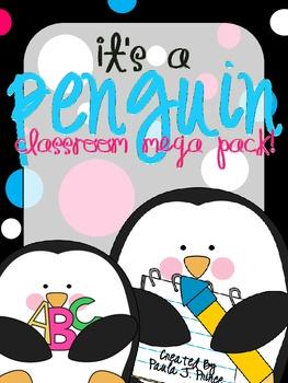 It's A Penguin Classroom MEGA Pack!