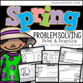 Print & Practice Math - Spring
