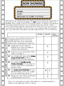 Activities/Assessments - Writing - Argument, Informational, Narrative
