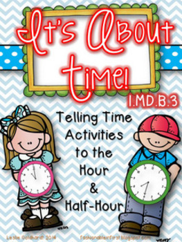 Telling Time - 1st Grade Style