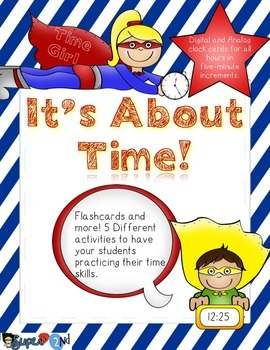 It's About Time! {Activities to Practice Time}