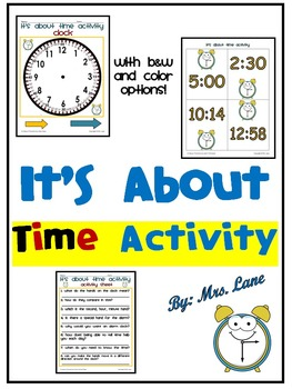 It's About Time Activity