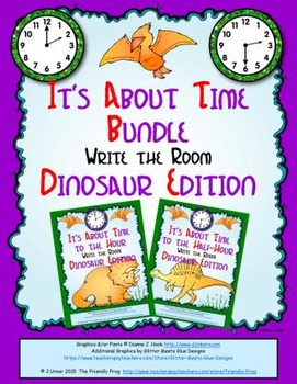 It's About Time Bundle: Write the Room (Dinosaur Edition)