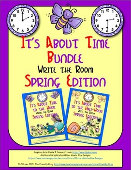 It's About Time Bundle: Write the Room (Spring Edition)